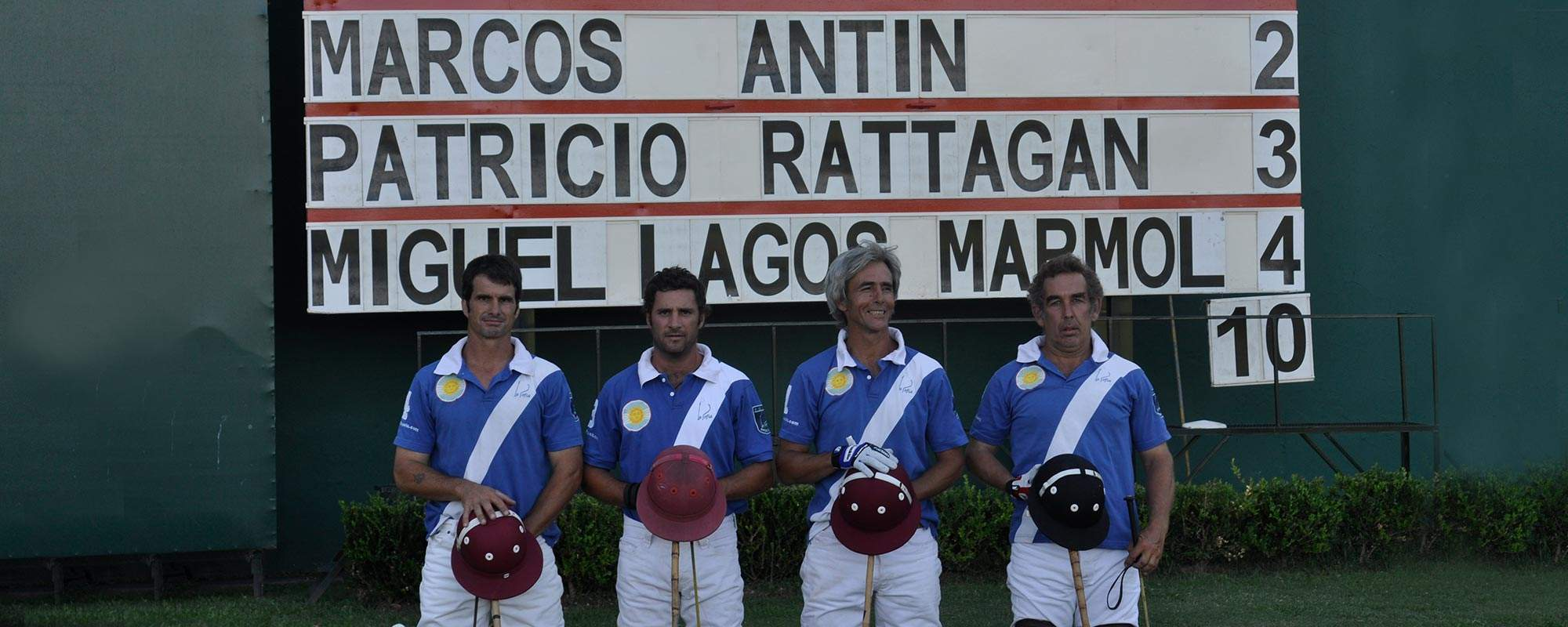 La Sofía Polo Team in Finals of Palermo, Buenos Aires - 2012 Stimulus Cup